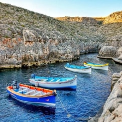 Blue Grotto Malta guided tour by Amy Pace