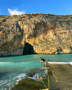Dwejra Gozo Malta guided tour by Amy Pace