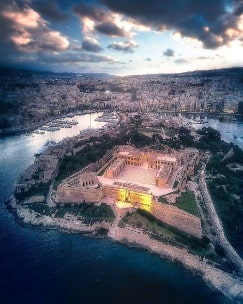 Fort Manoel Malta guided tour by Amy Pace