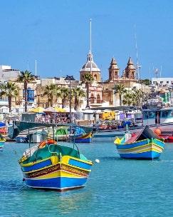 Marsaxlokk Bay Malta guided tour by Amy Pace