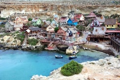 Popeye Village Malta guided tour by Amy Pace