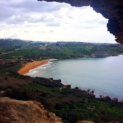 Ramla Bay Gozo Malta guided tour by Amy Pace