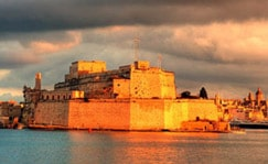 Fort St Angelo Valletta, Malta guided tour by Amy Pace