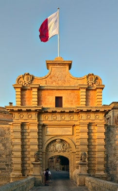 Mdina Gate Malta guided tour by Amy Pace